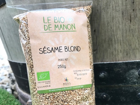 Sesame blond bio