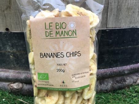 Bananes chips bio