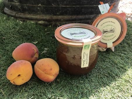 Confiture d'abricot au romarin bio