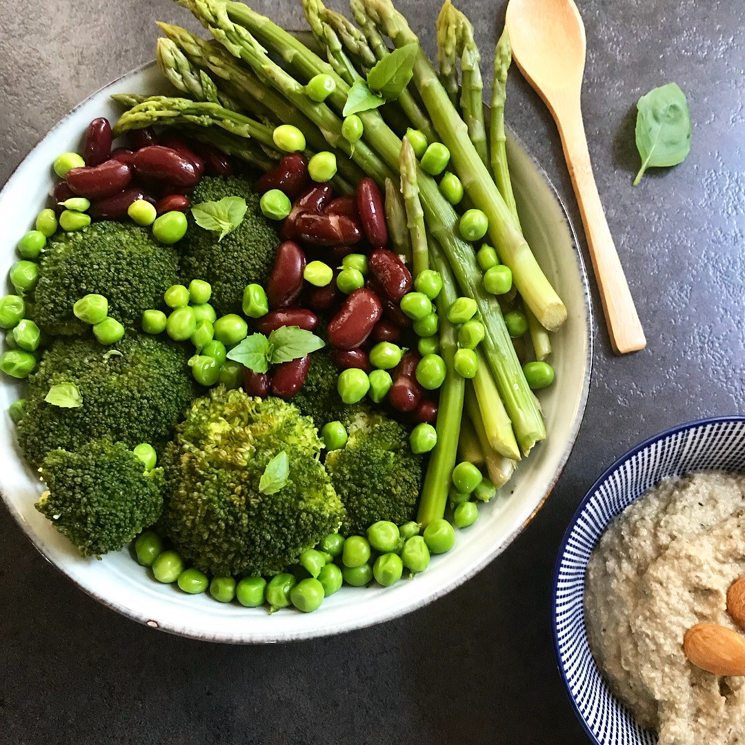 Légumes et sa sauce pesto