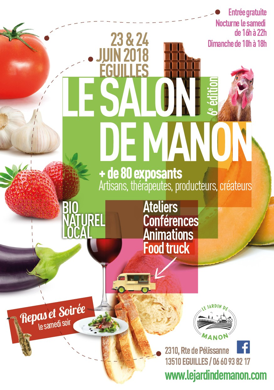 Le salon de Manon 6e Edition le 23 & 24 JUIN 2018